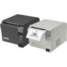 Epson TM-T70 - T70II, Ethernet & USB, with PWR SUPPLY, EDG, THERMAL,SPACE-SAVING