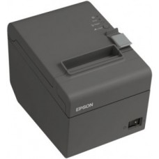 Epson TM-T20 - Thermal Receipt Printer, Ethernet Interface. Includes USB cable and power supply. Color: Dark gray.