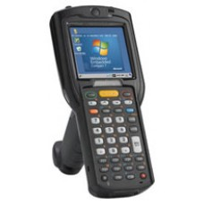 Motorola MC3200 Gun - Gun grip, 1D Laser Scanner, Windows Embedded Compact 7, 38 key Keypad, Wi-Fi (802.11a/b/g/n), Bluestar, High Capacity Battery, Expanded Memory.
