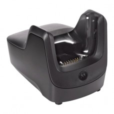 Zebra - MC2100 Single Slot USB Cradle. This Cradle Provides USB Communication With A Host Computer and Charges The MC2100 Series Mobile Computer.