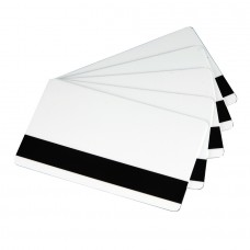 White Blank Magnetic Plastic Card , Box of 250 Cards, 30 mil