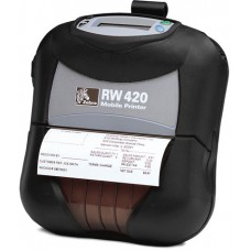 Zebra RW 420,  Direct Thermal 203 dpi, 4-inch Printing Width,  USB/RS-232 interfaces, Bluetooth