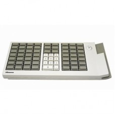 PK66A Pos & Programmable Keyboard,  66 keys,6 steps Keylock,USB,MSR 123 Track,66 Cherry MX keys based on Gold Crosspoint technology