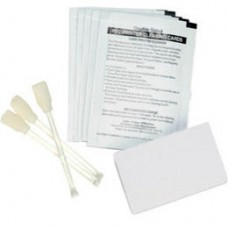 Zebra - Cleaning kit for P110i, P110m, P120i, 4 print engine cleaning cards & 4 feeder cards. (Enough for 4,000 prints). Compatible with P110i, P110m, P120i