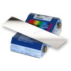 Zebra P100i Series Ribbons - Silver I Series Monochrome ribbon, 1,000 image prints per roll. The ribbon is used to print in Silver only. This ribbon is used for printing text and one-color images on one or both sides of a card.