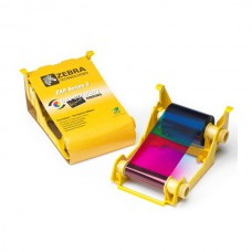 Zebra ZXP Series 3 Ribbon - ZXP Series 3 IX Series Eco High Capacity YMCKO Color Ribbon 280 Images/roll.  This ribbon is used to print color on one side of a card. This ribbon is compatible with the ZXP Series 3 Printer