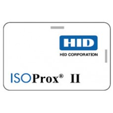 HID card  1586 - Composite 40% Polyester/PVC, Programmed, Low Frequency (125hKz), Front: Plain White PVC with Gloss Finish, Back: Plain White PVC with Gloss Finish, Sequential Matching Internal/External (inkjet)