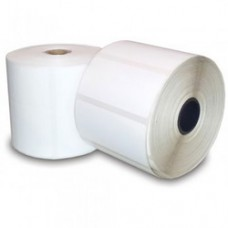 Polypremium 4121t White,Gloss Polyester,100mmx105mm,3Core,1000 Labels,Roll,Straight Format,White
