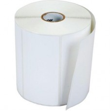 Polypremium 4121t White,Gloss Polyester,75mmx50mm,1.5Core,1250 Labels,Roll,Straight Format,White