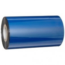 Pegasus Premium Wax/Resin BLUE- A701,110mmX74mtr.,1/5core, With Notch,Ink Out,Blue Color