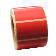 Eco Classic 2105T Mid Gloss/55gsm,Coated TT, 52mmX25mm,1.5 core,1000 Labels,Roll,Straight format,Red