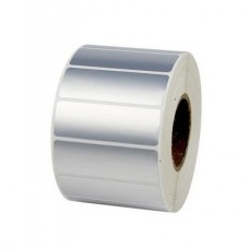 "Polysuper 6126t Pet Matt,Polyester,52mmx25mm,1.5""Core,1000 Labels,Roll,Straight Format,Silver"