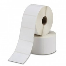 Polypremium 4121t White,Gloss Polyester,38mmx25mm,1.5Core,1000 Labels,Roll,Straight Format,White