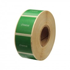 "Eco Classic 2105T Mid Gloss/55gsm,Coated TT, 102mmX105mm,1.5""core,500 Labels,Roll,Straight format,Green"