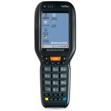 Datalogic Falcon X3+ - Wi-Fi (802.11a/b/g/n), 2D Imager Scanner with Green Spot, Pistol Grip, Windows CE 6.0, 256MB RAM/1GB Flash, 52 key Alphanumeric Keypad, Bluetooth, Standard Memory, QVGA Display. Interface cables and charging cradle sold separately.