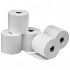 Thermal Pos Receipt(Cash Register)Roll-55gsm,80mmx50mm,60 Rolls Each Box,White,1 Ply