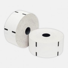 Q-Matic Thermal Ticket Roll -55gsm,62mm*62mm,1.5Inch Core,2200 Tickets,12 Rolls Each Box