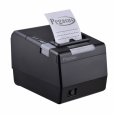 Pegasus PR8002 Thermal POS Printer,3, 250mm/s,ESC/POS,Drawer Port,autoCutter,USB + Ethernet + Serial,Gray,Thermal,English,UK Pin,PSU